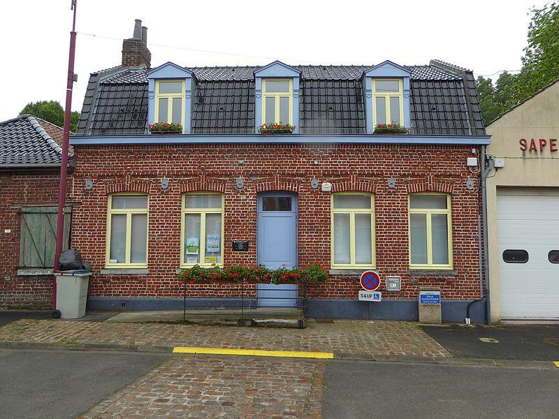 La médiathèque  Bersée Nord Nord-Pas-de-Calais-Picardie France.