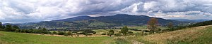 Silesian Beskids - Panorama of the Silesian Beskids