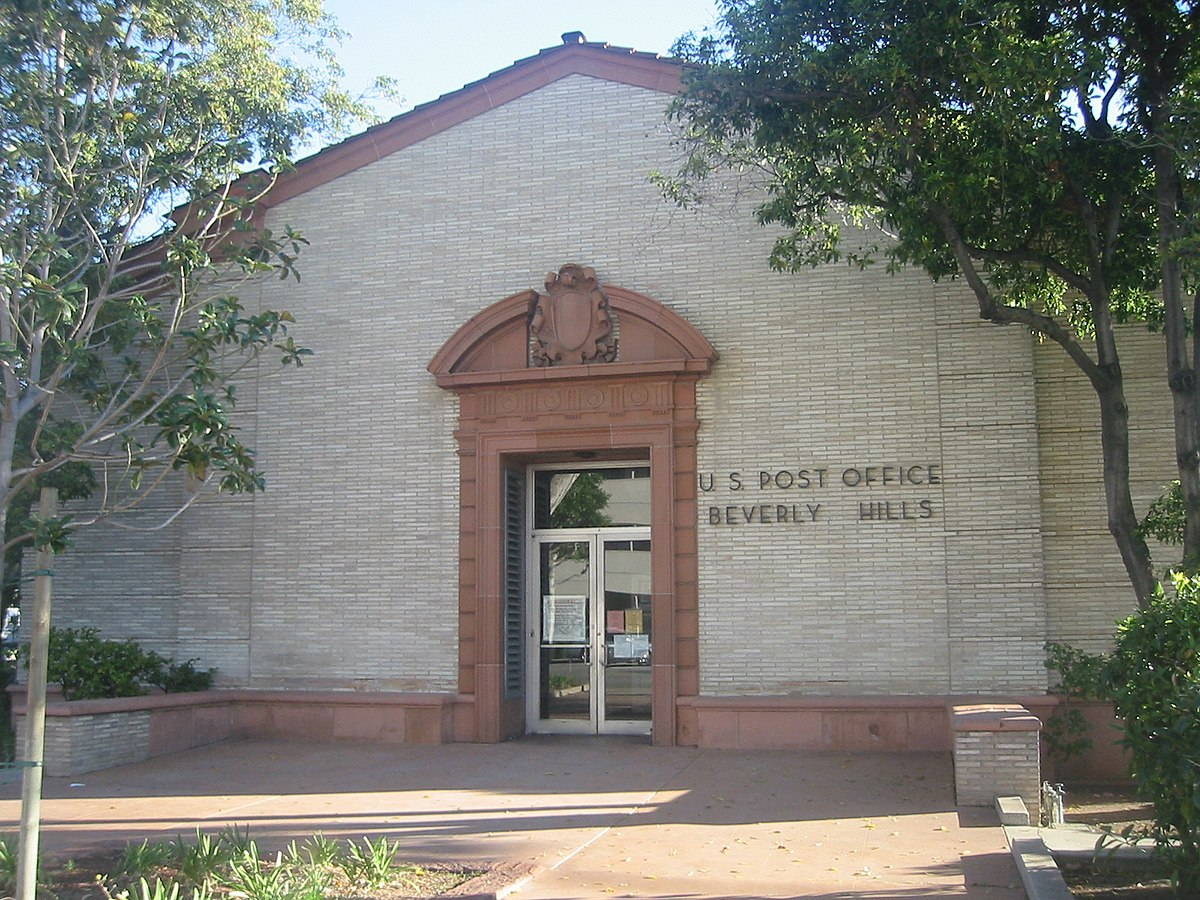 Beverly Hills Post Office - Wikipedia  Beverly Hills P...