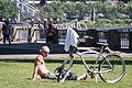 Bicyclist on a Break.jpg