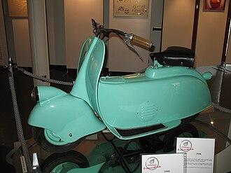 """Vespa - Piaggio MP5 """"Paperino"""", the initial Piaggio prototype"""