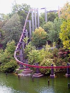 Big Bad Wolf (roller coaster) Former amusement park ride