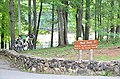 Bikes Boat Dock Sign Douthat State Park (27970007424).jpg