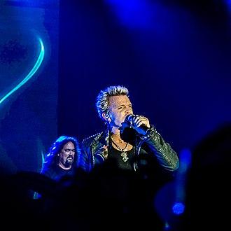 Billy Idol - Idol performing at Bonnaroo, 2013