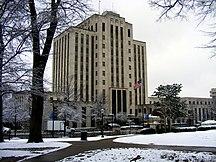 Alabama-Clima-Birmingham city hall alabama 2010