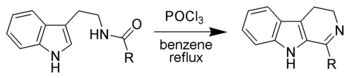 Bischler-Napieralski Reaction Scheme.png
