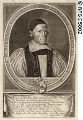 David Loggan - David Loggan, Edward Reynolds, Bishop of Norwich, 1658