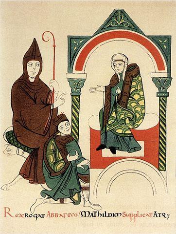 Enrico IV chiede a Matilde di mediare con papa Gregorio VII