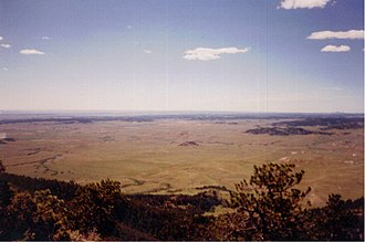 Inyan Kara Mountain - Image: Black Hills Prairie from Inyan Kara