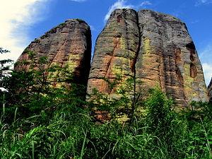 "Black Rocks at Pungo Andongo - Impressive ""Black Stones"" of Pungo Adongo"