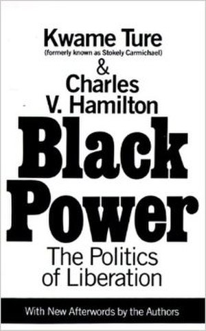 Black Power: The Politics of Liberation - 1992 Edition Cover