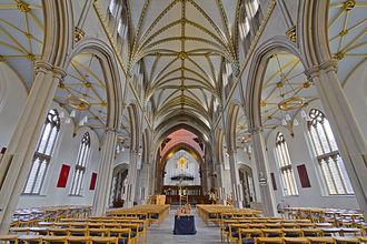 Blackburn Cathedral - Image: Blackburn Cathedral HDR (8412074986)