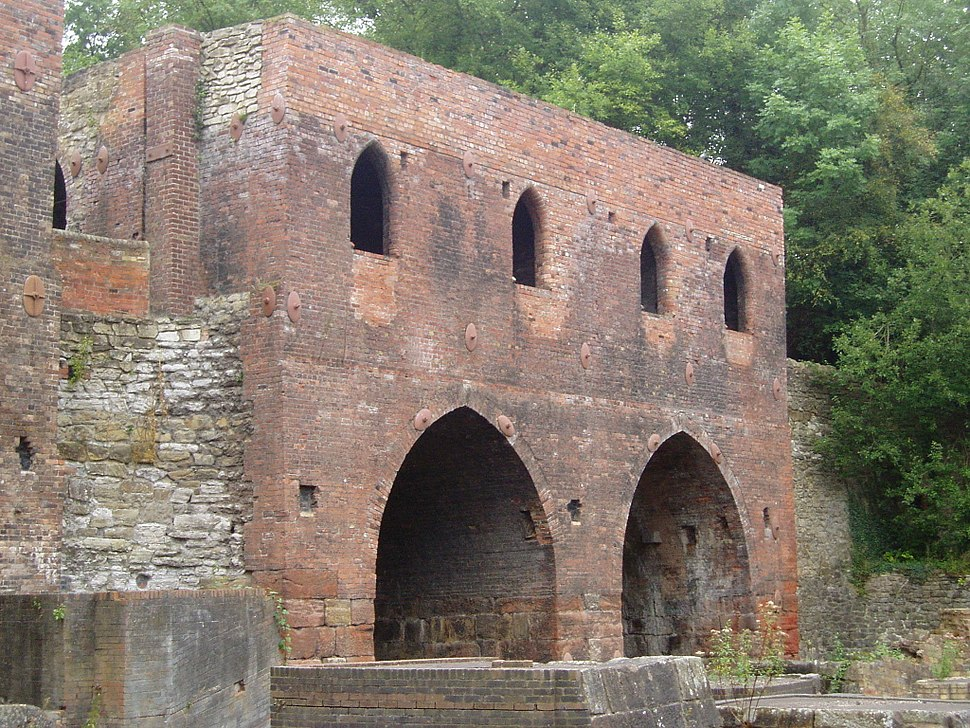Blast Furnaces at Blists Hill