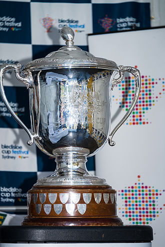 Bledisloe Cup - Image: Bledisloe Cup on display in Sydney 2014