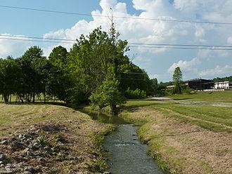 Clear Creek (Salt Creek) - West Fork Clear Creek south of W. Tapp Rd
