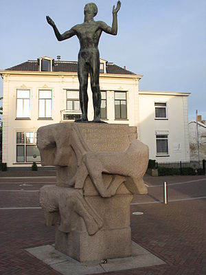 Hotel de Wereld - Monument for Liberty