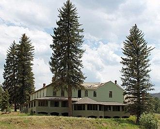 Blue Jay Inn - The inn in Summer, 2013.