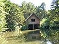 Boathouse, Elvaston Castle Lake - geograph.org.uk - 1704851.jpg