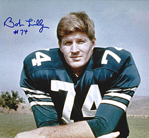 Bob Lilly - Image: Bob lilly signed