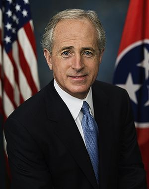 Bob Corker - Corker's first official portrait