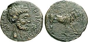 Bocchus II - Image: Bocchus II Æ 77000344