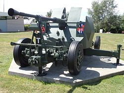 Bofors 40mm (2), Pegasus Bridge, Normandy, France.JPG