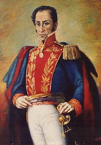 Battle of Carabobo - Simón Bolívar