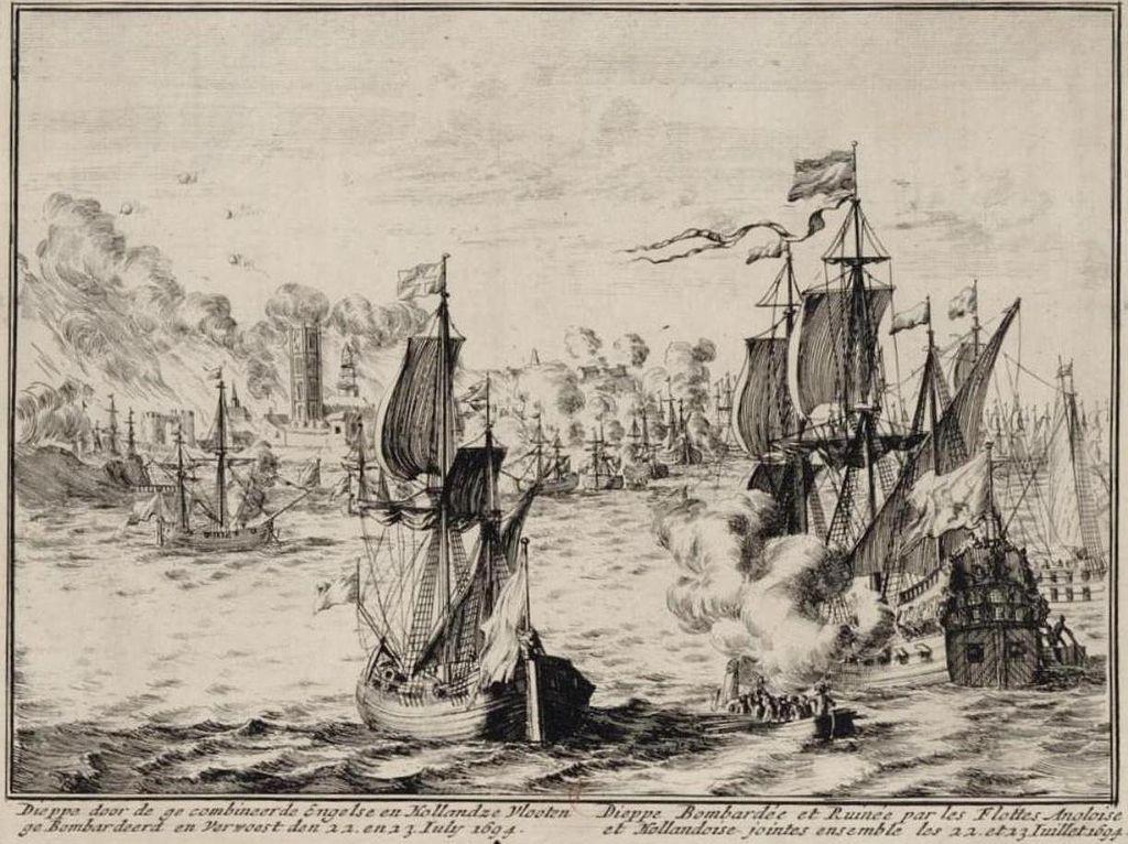 Bombardement de Dieppe en 1694.jpg