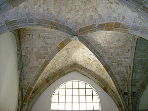 Ogive - Ogival curves in the ribs of Gothic vaulting
