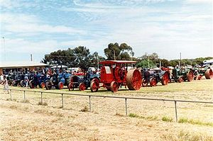 Booleroo Centre - Image: Booleroo steam and traction small