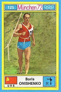 Boris Onishchenko Soviet modern pentathlete