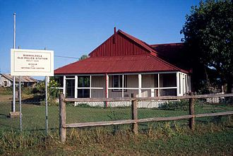 Borroloola - Borroloola's Historic Police Station