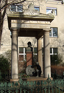 The memorial pictured in 2007 in the Berlin cemetery Borsig-tomb.JPG