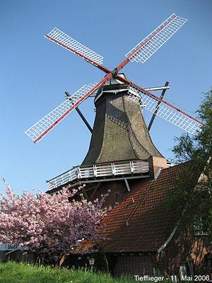Jork - Image: Borsteler Mühle