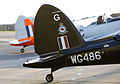 Both of the of Battle of Britain Memorial Flight Chipmunks at RAF Coningsby. MOD 45158888.jpg