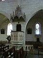 Boulazac église chaire (1).JPG