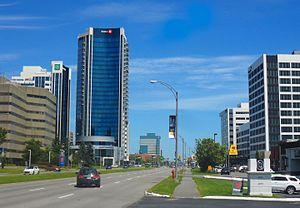 Boulevard Laurier, juillet 2016