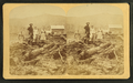Bourdeau Family, Owl's Head Slide, Jefferson, N.H, from Robert N. Dennis collection of stereoscopic views.png