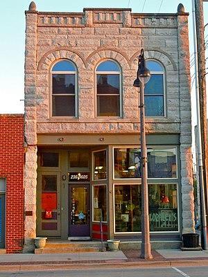 National Register of Historic Places listings in Poweshiek County, Iowa - Image: Bowers n Mac Grinnell IA