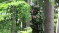 Bowhunter taking aim during a deer hunt Denmark 01.png