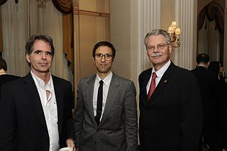 File:Bradley Cox, Michael Garofalo, and Horace Newcomb, May