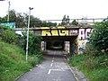 Braník, podchod pod železničními tratěmi pod Vrbovou ulicí.jpg