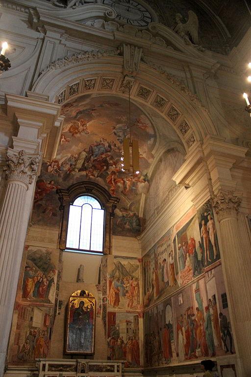 De Cappella Brancacci in de nabijgelegen Santa Maria del Carmine
