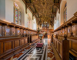 Chapel of Brasenose College, Oxford - The chapel in 2015