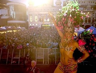 Demography of Liverpool - Brazilica Festival in Williamson Square in 2012
