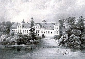 Bregentved - Eigtved's Bregentved in 1845