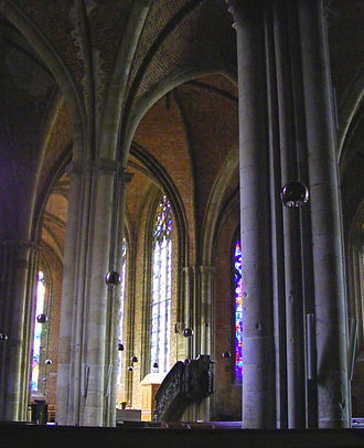 Church of Our Lady (Bremen) - From the left aisle to the choir