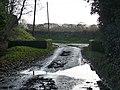 Bridge over a stream, Dumpford - geograph.org.uk - 1719741.jpg