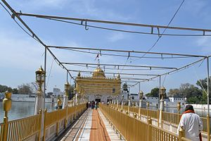 Durgiana Temple - A bridge linking the temple