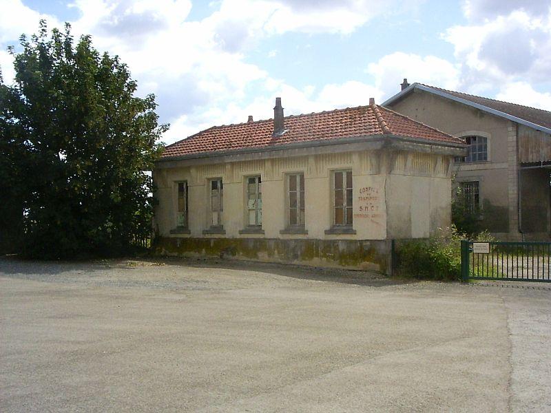 Brienne-le-château, station, tussengebouw
